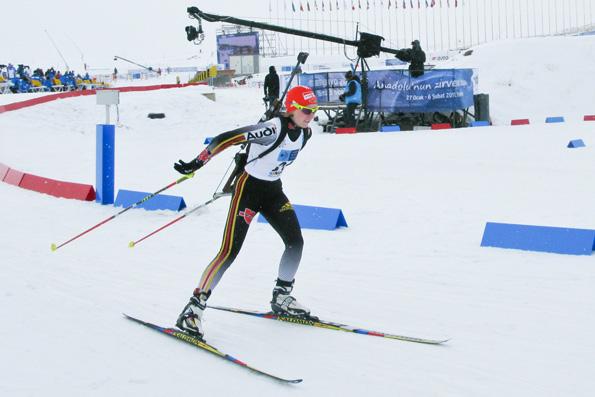 Franziska Hildebrand - seit 2001 ist sie Deutsche Biathletin.