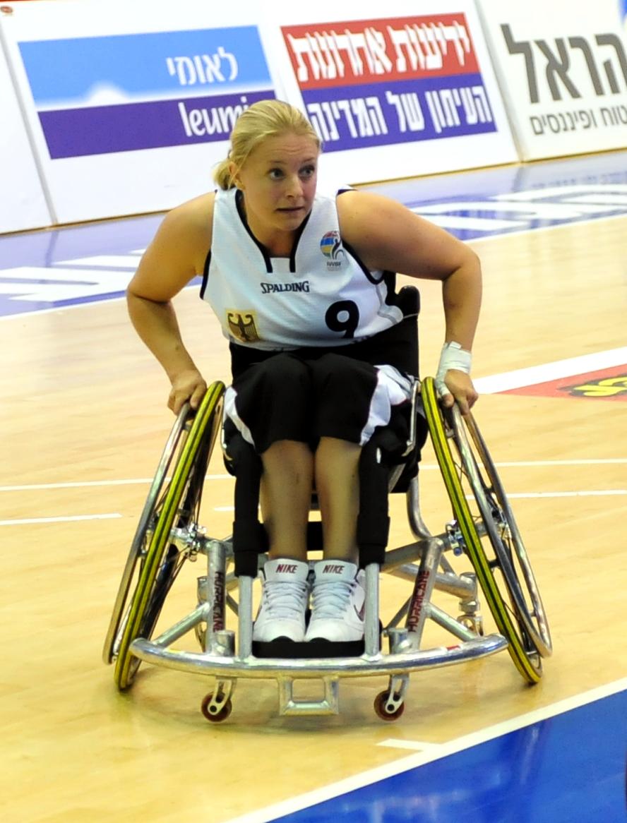 """""""Eine komplette Chancengleichheit wird es nicht geben, da die Behinderungen der Athleten zu unterschiedlich sind"""", sagt Maria Kühn – hier in Aktion bei der Europameisterschaft 2011 in Israel. Foto: DRS/Joneck"""